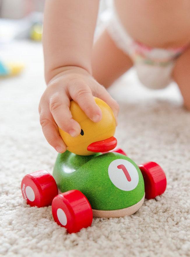 Geschäft für Babyausstattung und Spielzeug